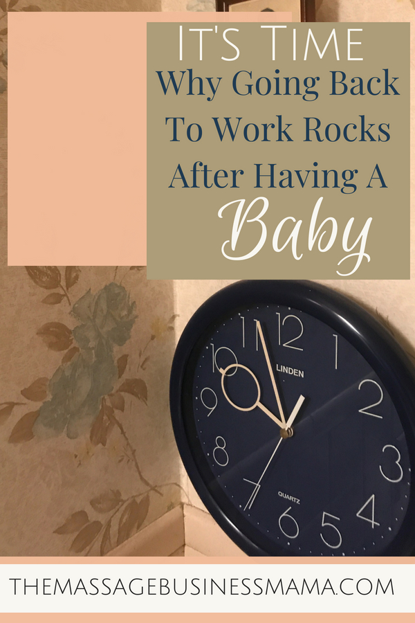 Going Back to Work After Having a Baby