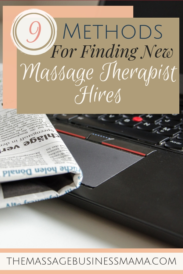 Method for Finding Massage Therapists to Hire