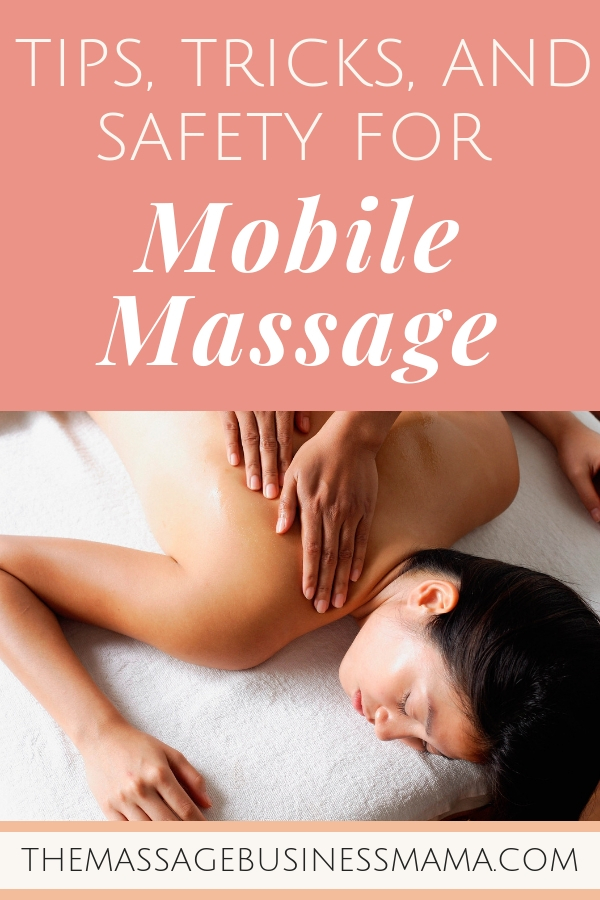 Outcalls, onsite and mobile massage
